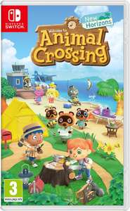 Animal Crossing New Horizons - Nintendo Switch used - £26.95 with code @ musicmagpie / ebay