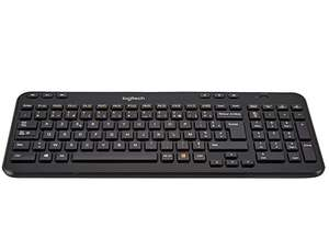 Logitech K360 Compact Wireless Keyboard, 2.4GHz with USB Unifying Receiver, AZERTY French Layout - £6.82 prime /+ £4.99 non prime @ Amazon