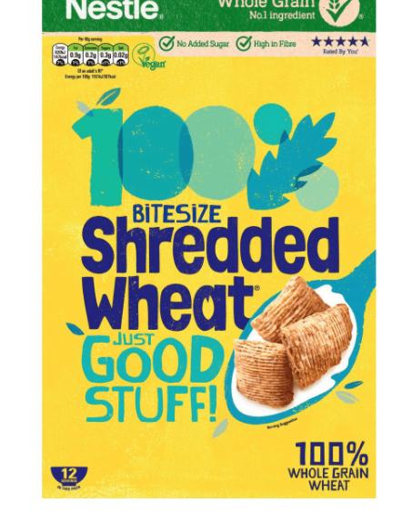 Shredded Wheat Bitesize 750g are £1 @ Farmfoods