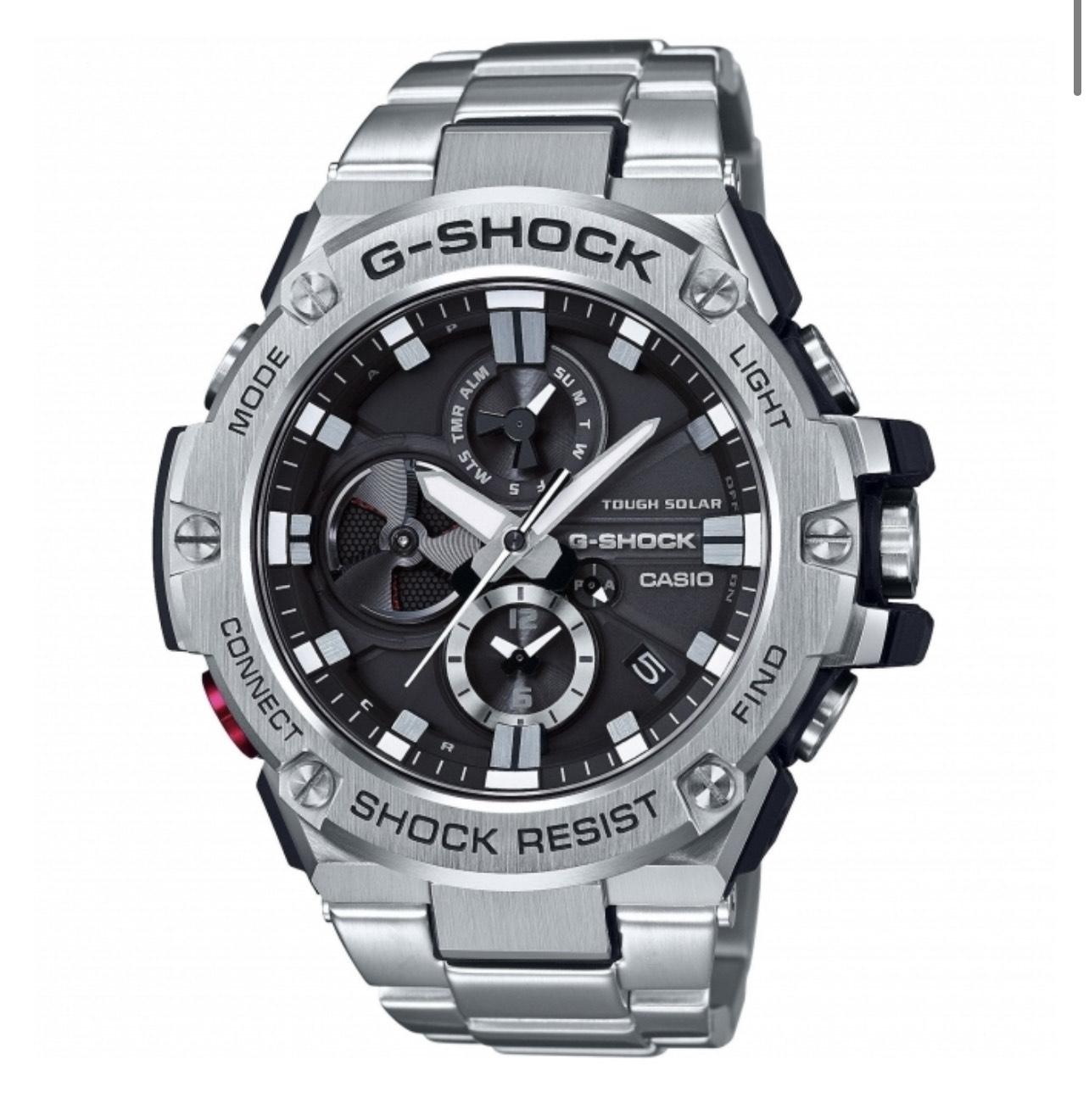 Casio G-Shock G-Steel Bluetooth Triple Connect Chrono Solar Watch GST-B100D-1AER £239 at Simpkins Jewellers
