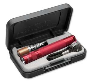 Red Maglite Solitaire LED Torch - 37 lumens - 55m beam - gift boxed £11.70 (+£4.49 non-prime) @ Amazon