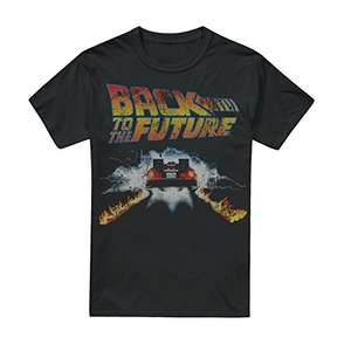 Back To The Future Men's Delorean T-Shirt Sizes Small to XXL £10.92 Amazon Prime (+£4.49 Non Prime)