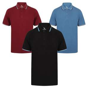 3 Men's Polo Shirts For £15 (+ £1.99 delivery / Free on £30) using code @ Tokyo Laundry