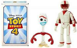Forky & Duke Caboom Double Pack in limited Toy Story 4 Packaging £3.71 (+£4.49 non-prime) @ Amazon