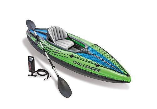 Intex Challenger K1 Kayak with oar and pump £76.46 (UK Mainland) @ Amazon EU on Amazon