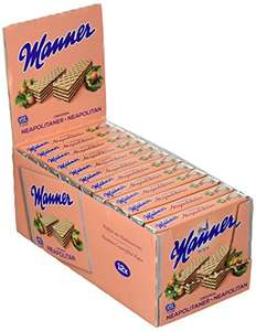Original Neapolitaner Wafers 75 g, Nuts (Pack of 12) 900g- £4.93 (+£4.49 non-prime) @ Amazon
