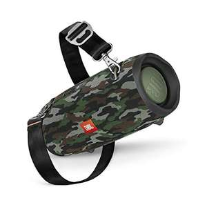 JBL Xtreme 2 Bluetooth Speaker with Rechargeable Battery– Waterproof – Carry Strap included – Camouflage £135.23 @ Amazon