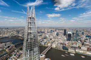 The Shard and Three Course Meal at Marco Pierre White's London Steakhouse Co for Two £89 (£80.10 With signup code) @ Virgin Experience Days