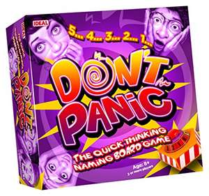Don't Panic Family Board Game from Ideal n- £6.17 (+£4.49 Non-Prime) @ Amazon