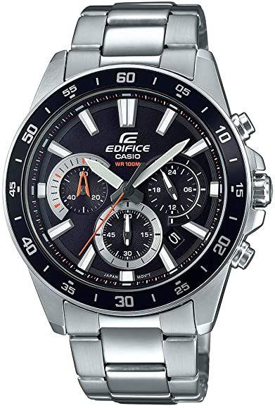 Casio Edifice Mens Chronograph Watch EFV-570D-1AVUEF - £56.16 @ Amazon