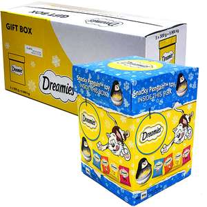3 x 300g boxes (900g)Snacky Penguin Cat Treats Gift £9.00 delivered @ Yankee Bundles