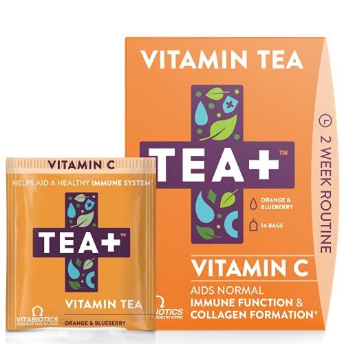 Vitabiotics TEA+ Vitamin C Echinacea and Ginseng 14 Tea Bags - £0.98 (+£4.49 Non-Prime) @ Amazon