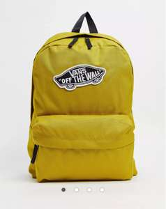 Vans sporty realm plus backpack in mustard £14.70 (£4 delivery) @ Asos