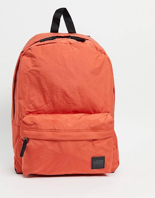 Vans Deana III backpack in paprika £10.25 (£4 Delivery) @ Asos