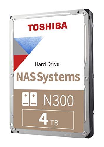 Toshiba N300 4TB NAS 3.5-Inch Internal Hard Drive - CMR £79.48 (UK Mainland) via Amazon US on Amazon