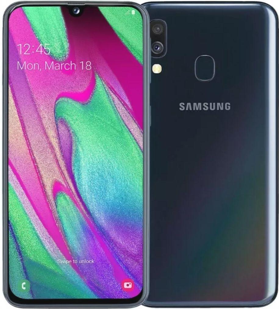 Samsung Galaxy A40 - 64GB - Black - Good - Unlocked SIM Free Smartphone £61.19 @ musicmagpie /eBay