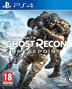 Tom Clancy's Ghost Recon: Breakpoint [PS4] £7.79 delivered [+ £2.99 non-Prime] @ Amazon