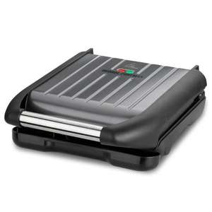 George Foreman Compact Grill - Grey £24.93 (Click & Collect in Limited Locations) @ Homebase