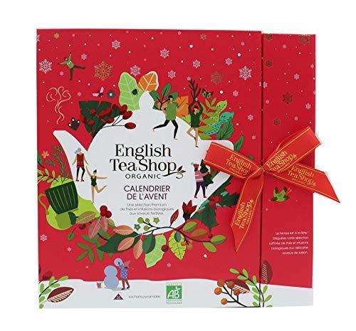 English Tea Shop Advent Calendar - 25 Organic Loose Leaf Tea Pyramid Bags - £3.74 (+£4.49 Non-Prime) @ Amazon