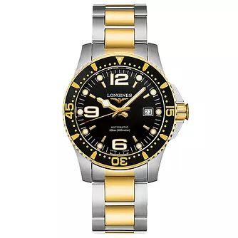 Longines Hydroconquest Men's Two Colour Bracelet Watch £896 with code @ Ernest Jones