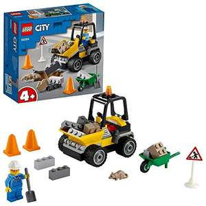 LEGO 60284 City Great Vehicles Roadwork Truck Toy, Front-End Loader £6 Prime / +£4.49 non Prime at Amazon
