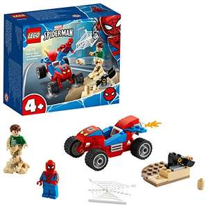 LEGO 76172 Spider-Man and Sandman Showdown Playset with Racing Car £7.20 Prime / +£4.49 non Prime at Amazon
