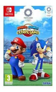 Nintendo Switch : Mario and Sonic at the Olympic Games used - £26.95 with code @ musicmagpie / ebay