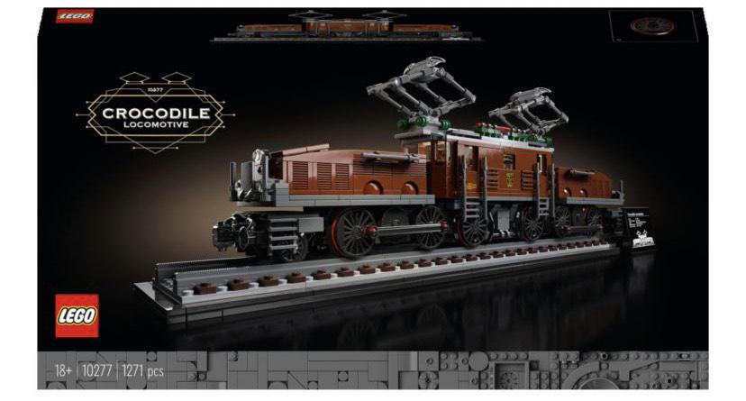 LEGO Creator 10277 Crocodile Locomotive - £76.49 delivered @ John Lewis & Partners