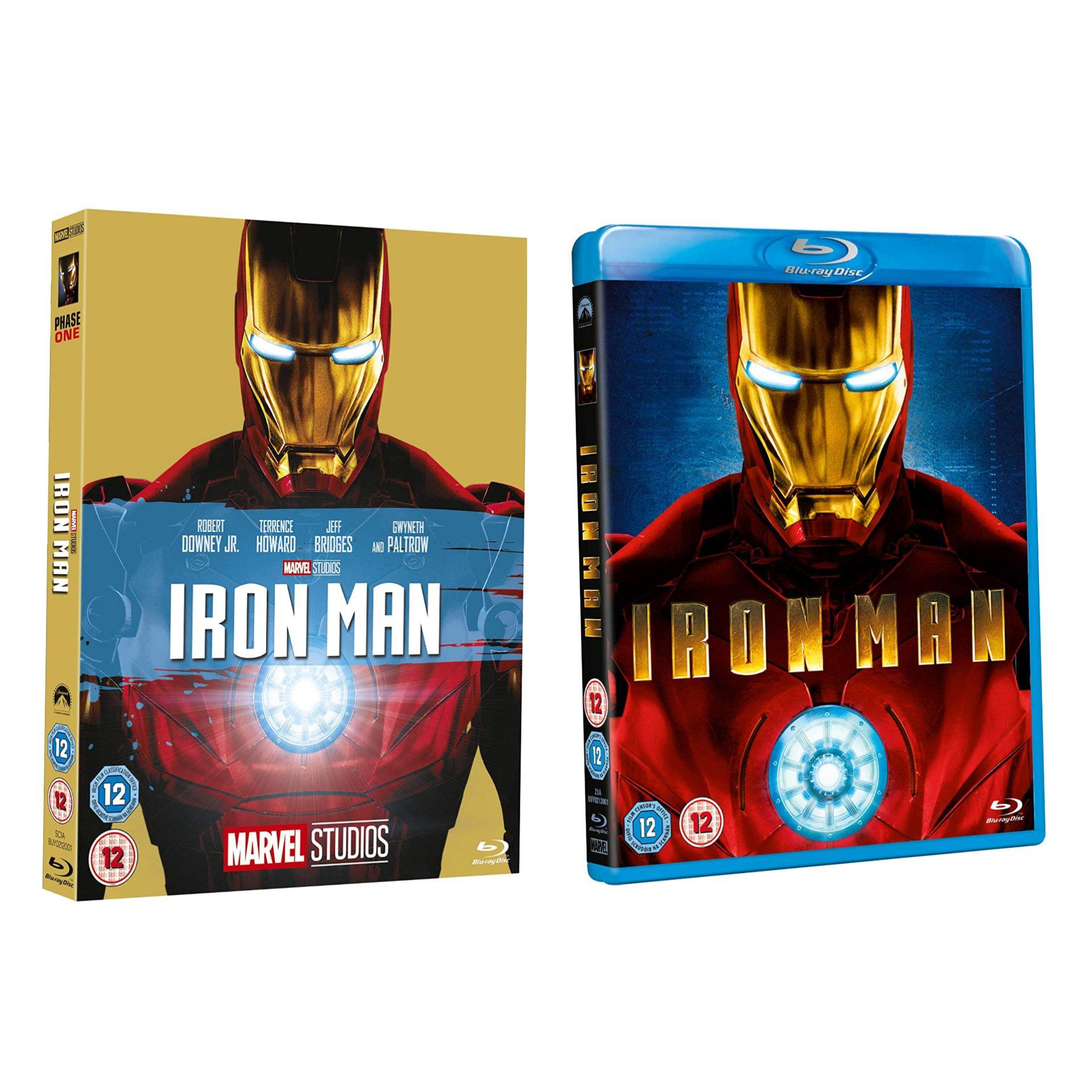 Iron Man [Blu-ray] [Region Free] - £4.69 Prime / +£2.99 non Prime @ Amazon