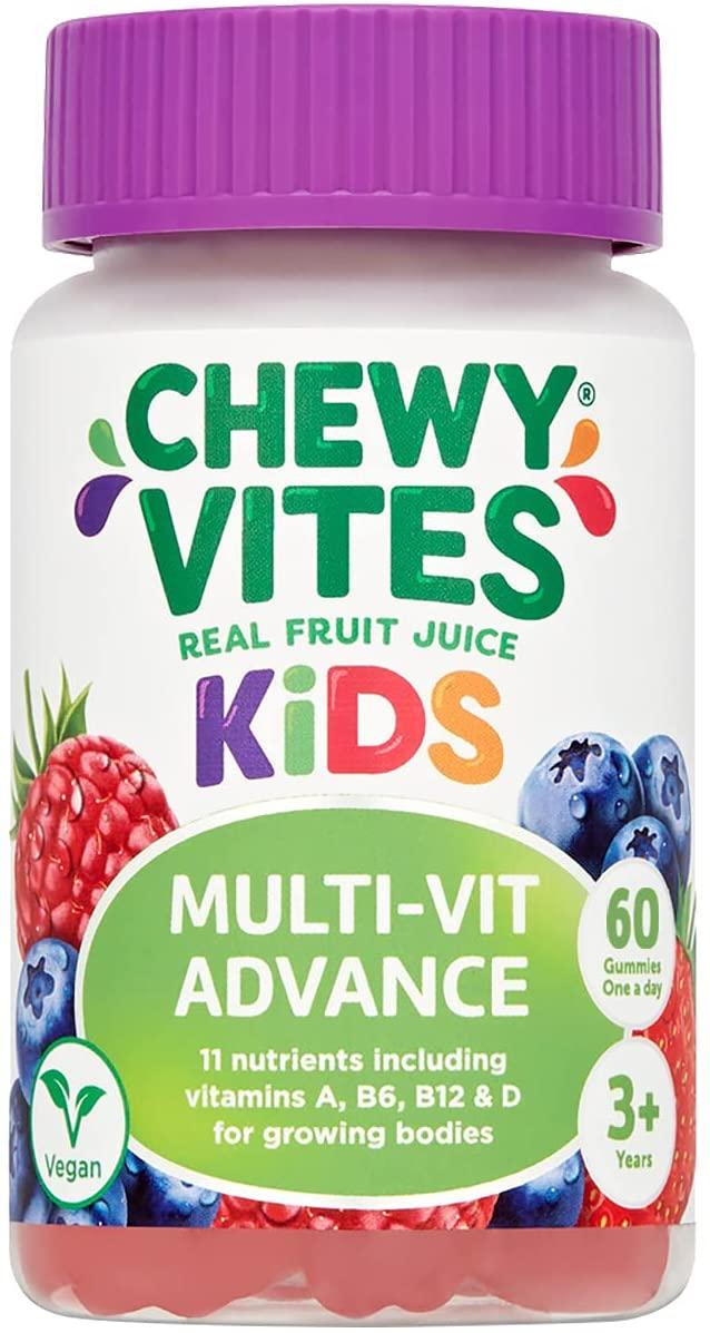 Chewy Vites Kids Multivitamin Advance 60 Gummy Vitamins, 11 Essential Nutrients 2 Months Supply - £5.44 (+£4.49 NP) @ Amazon
