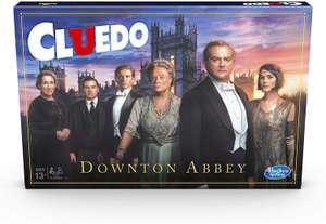 Cluedo Downton Abbey Edition Board Game for Kids Ages 13 and up, Inspired By Downton Abbey £4.76 @ Amazon (£4.49 p&p non prime)