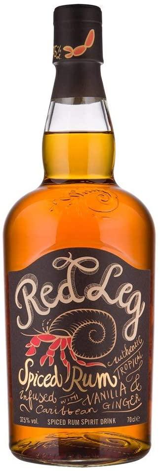RedLeg Spiced Rum, 70cl, ABV 37.5% - £15 Prime / +£4.49 non Prime @ Amazon