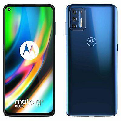 SIM Free Motorola G9 Plus 128GB Mobile Phone - Navy Blue Smartphone - £173.95 (Free Collection) @ Argos
