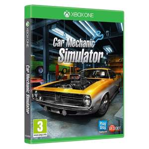 Car Mechanic Simulator Xbox One (Brand New Physical Copy) - £13.99 delivered @ 365games.co.uk