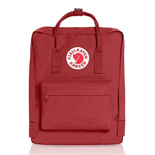 Fjallraven Kanken Unisex Waterproof Outdoor Hiking Backpack 23510-325 27 x 13 x 38 cm, 16 Liter Deep Red - £35.22 @ Amazon