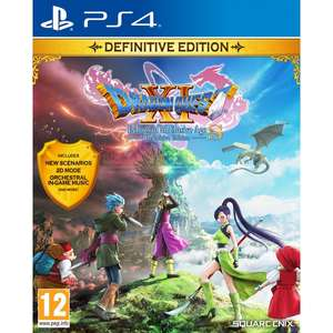 Dragon Quest XI S Echoes of an Elusive Age Definitive Edition - PS4 - £17.99 - 365games