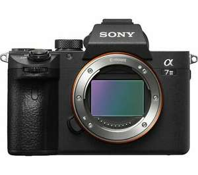 SONY a7 III Mirrorless Camera, 24.2 megapixel full-frame sensor, 4K video, black - Currys damaged box. £1351.68 @ Curry's Clearance eBay