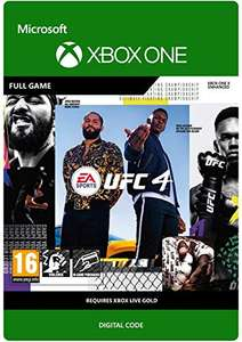 EA SPORTS UFC 4 Standard Edition | Xbox One - Download Code - £23.99 @ Amazon