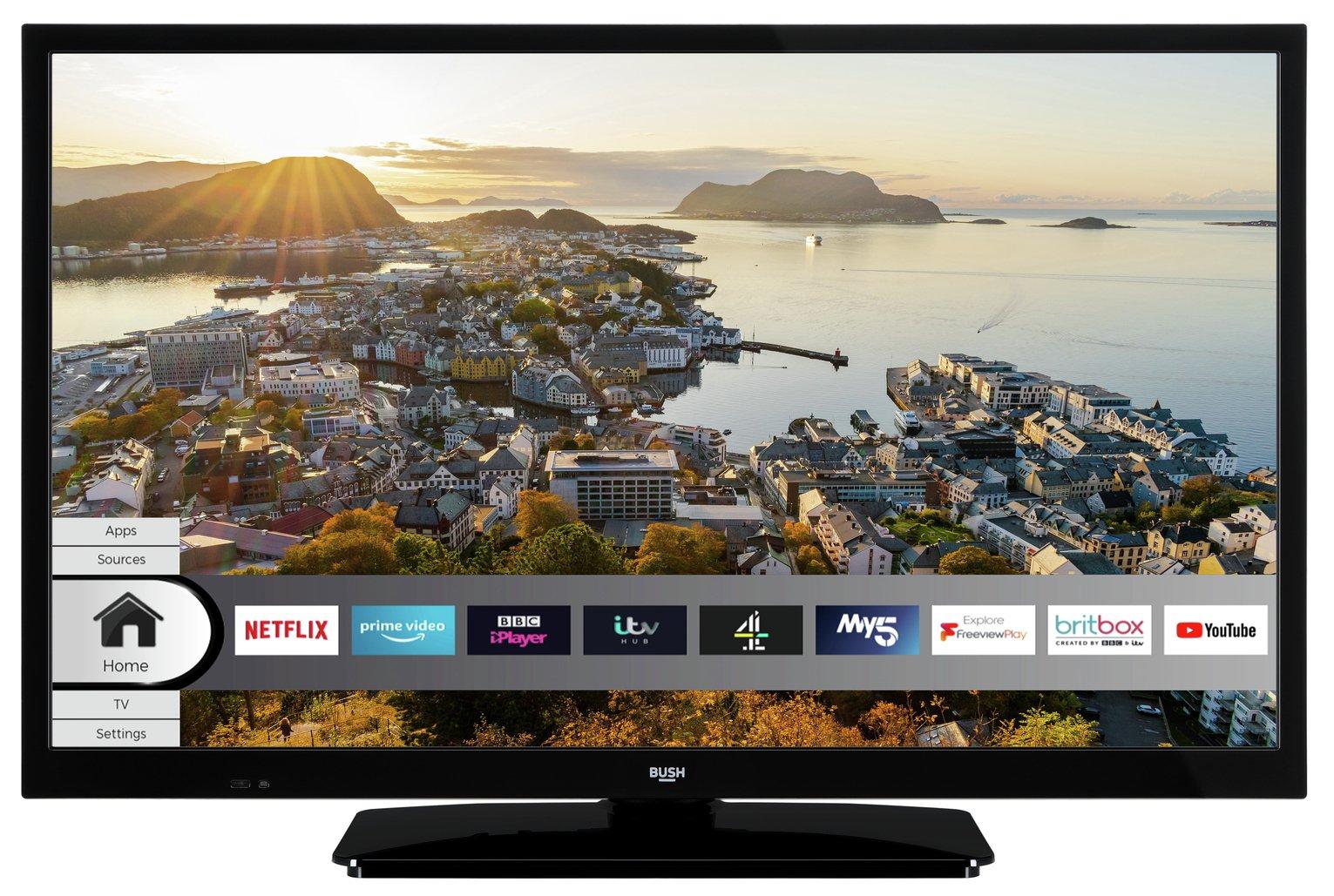 Bush 32 inch HD Smart TV (Refurbished/Returns) - £89.99 in-store @ Argos Clearance Bargains (Stanley)