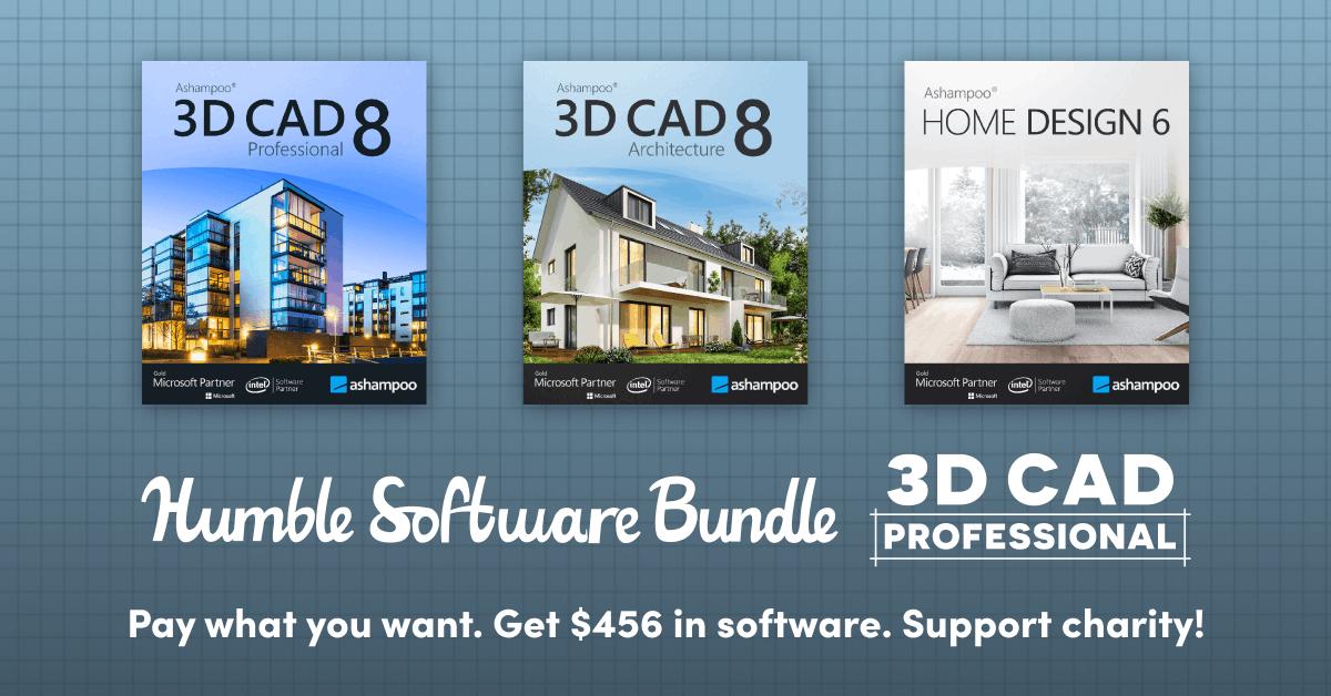 Ashampoo 3D CAD suite - £17.61 @ Humble Bundle