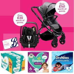 Collect £10 worth of points on every £60 you spend across selected Baby @ Boots