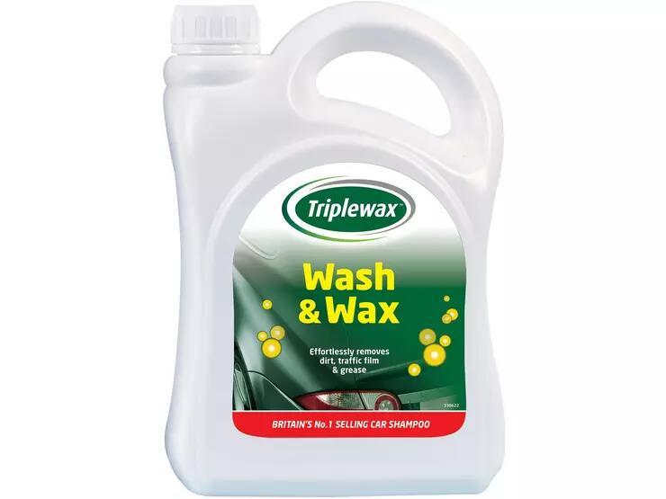 CarPlan Triplewax Shampoo 2L £3 (Click & Collect / £3.99 Delivery) @ Halfords