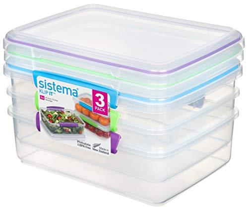3 x Sistema Klip It Accents 2 Litre - £5.50 Prime / +£4.49 non Prime @ Amazon