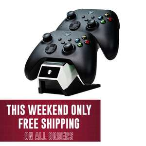 Free Delivery on All Orders EG: Xbox Series X And Series S Fast Charge Twin Charging Dock - £14.99 Delivered @ Gamebyte