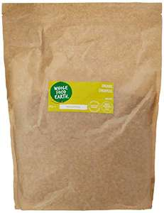 Organic Chickpeas - GMO Free - 3kg - £3.82 Prime / +£4.49 non Prime (£2.69 with 15% voucher on first S&S order) @ Amazon