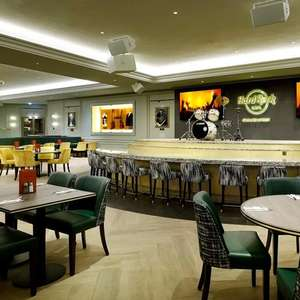 Bottomless Brunch for Two at Hard Rock Cafe Oxford St (Main Course and a Starter or Dessert + Unlimited Prosecco or Beer) £30 @ Travelzoo
