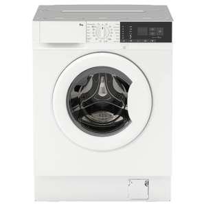 IKEA TVÄTTAD Integrated washing machine with steam program - £299 (£40 delivery) @ IKEA
