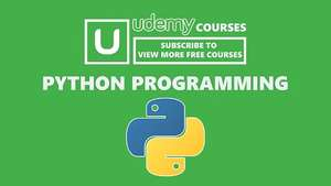 Collection of Python Courses - Free @ Udemy