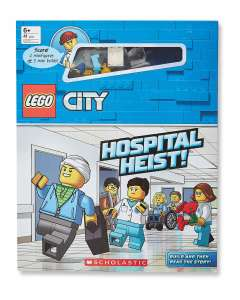 Lego City - Hospital Heist Interactive Book £4.94 delivered from Aldi