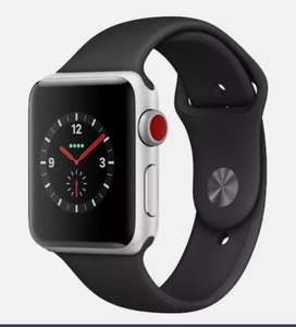 Apple Watch Series 3 - 38mm Silver Aluminium Refurbished Good Condition Smartwatch - £107.09 With Code @ Music Magpie / Ebay